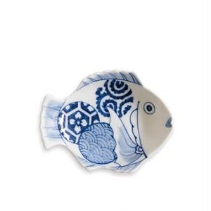 招福鯛クラシック 丸文小皿