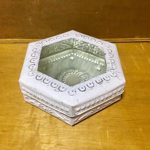 アルミBOX六角形 ラベンダー