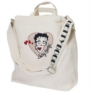 【Betty Boop】ベティ・ブープ ショルダートート(ハート/CX-52208)