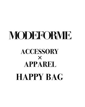 ACCESSORY × APPAREL HAPPY BAG
