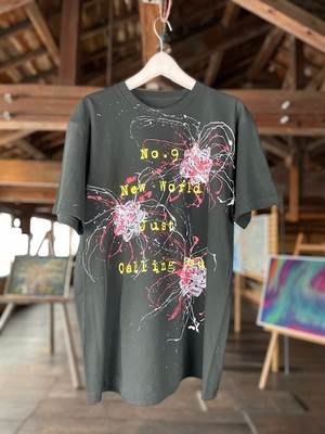 (Re:II)feat.BUCK-TICK  Tシャツ SHIBUKI ART TYPE:No9 New World Just Calling You -Black-