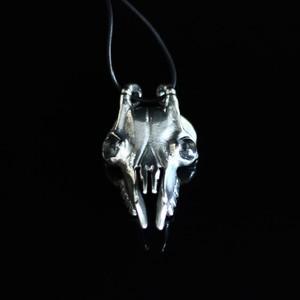 Stag's Skull Neolithic Hunter's Pendant