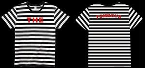 ロゴボーダーTシャツ