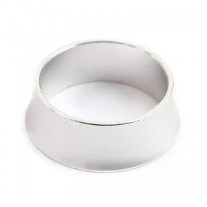 *DIA-COMPE* alloy tapered spacer (silver)