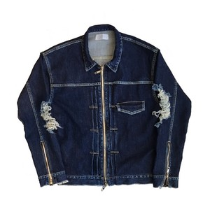 DAMAGE SLEEVE DENIM JACKET(1st TYPE)