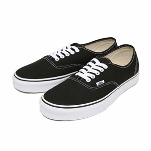 VANS(バンズ) / AUTHENTIC     -BLACK/WHITE-