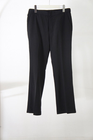 Beltless Pants -BLACK- / THEE