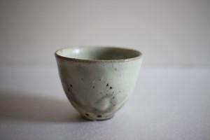 山田隆太郎|もみ灰釉茶杯