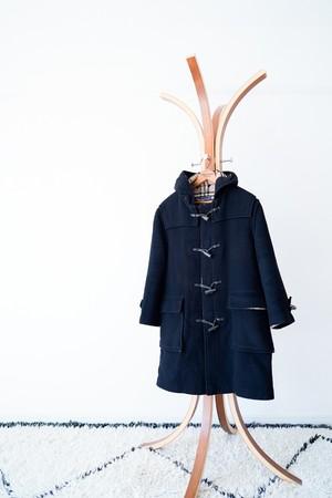 """【1980-90s】""""Burberrys"""" Wool Duffle Coat / v464"""