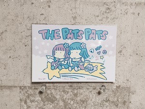 THE PATS PATS / 4th EP DLコード付きポストカード