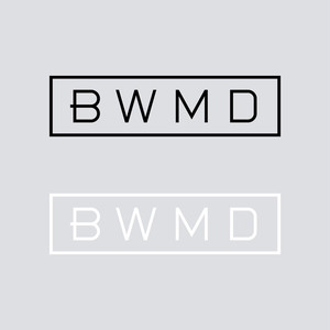 BWMD LOGO CUTTING STICKER 【 M 】