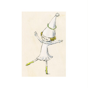 バレエポストカード・Dancing Fairy キューピッド