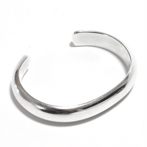 Hermès Vintage Sterling Silver Solid Bangle