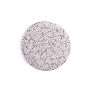 Coral Shell コーラル貝殻 正円プレート スモール