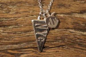 NYC  pennant necklace
