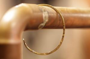 B S K K 刻印バングル Brass(真鍮)