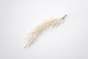herringbone / ecru / earring