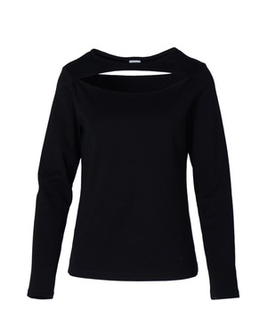 Decollete cutting tops ( black )