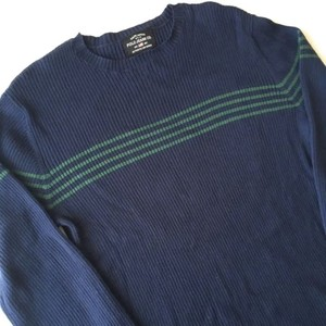 POLO JEANS CO. : stripes cotton knit (used)