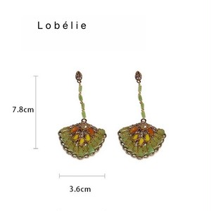 扇子形ロングピアス LABYHE5909