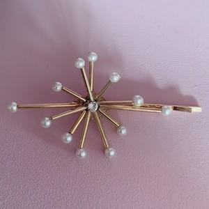 ATOMIC Pearl hair pins