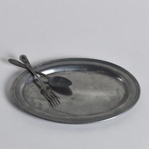 Pewter Plate / ピューター プレート〈 食器 / お皿 / ディスプレイ〉SB2105-0016