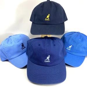 【20%OFF SALE】 kangol washed baseball cap - ブルー系統4色 カンゴール ローキャップ