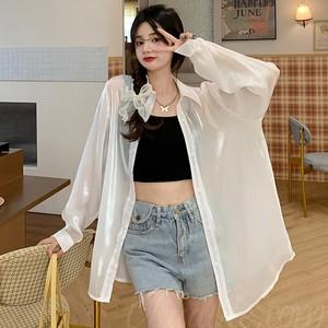 【トップス】韓国系長袖シングルブレストPOLOネックシャツ42488000