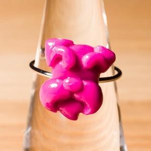 シュナウザーのカラーリング サイズフリー 指輪