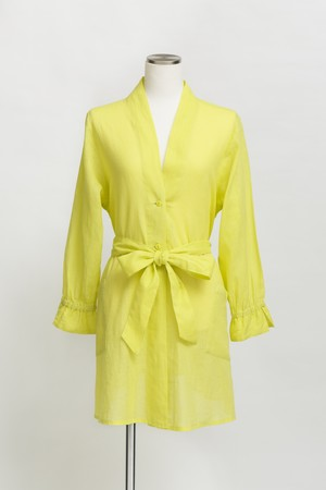 KYASHA-COTTON&LINEN-/Yellow(TT1919-10)