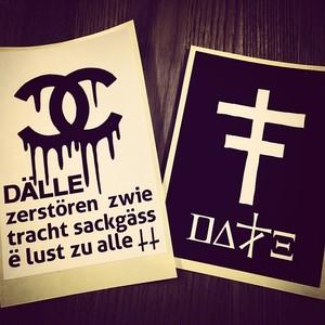 【DALLE】sticker<cross+dropセット>