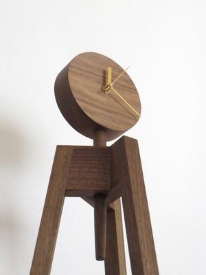 3-legged clock/photostand|floor stand type
