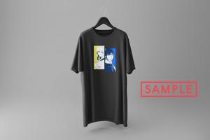 """海月ナギ描き下ろしデザイン""""gemi[2]"""" vket-limited Tシャツ(スミ)"""