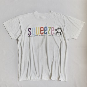 "80s Squeeze 88s world tour T-shirts ""screen star"""