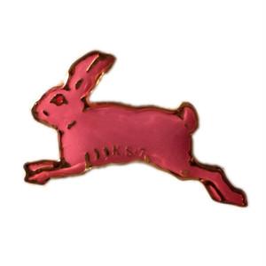 すみれピンズ「ピンクウサギ」