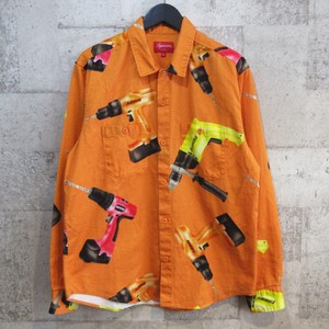 SUPREME 19SS Drills Work Shirt