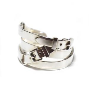 Hermès Vintage Sterling Silver Belt Bracelet