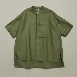 MOUN TEN. C/L moleskin shirts (khaki)110 125 140 [21S-MS19-0920a]  MOUNTEN.※1点までメール便OK