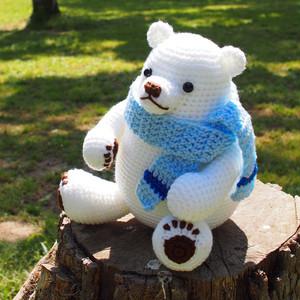 シロクマのあみぐるみ 編み図
