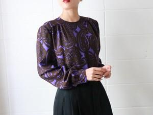 Valentino 80's wool silk blouse