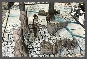 迷宮の柱セット「GW限定半額ワンコイン」