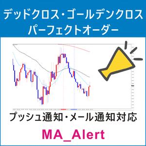 MAのクロスとパーフェクトオーダー監視『MA_Alert』