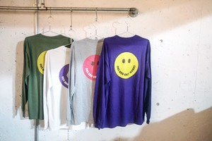 COFFEE SMILE  LONG SLEEVE T