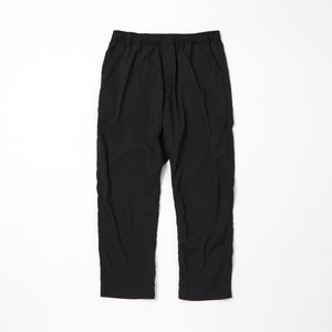 TAPERED PANTS - BLACK