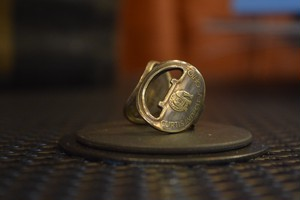 THUMBS UP MARKET original antique KEY RING6