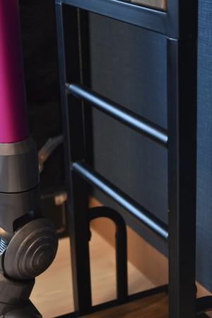 Industrial Stick Cleaner Stand / インダストリアルスタイル インダストリアル スティック掃除機スタンド