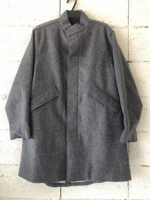 FP SIMPLIFIED FISHTAIL COAT (MELTON)