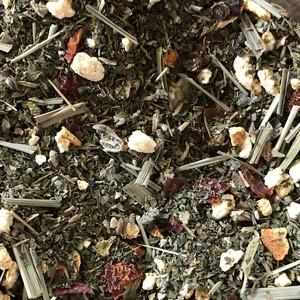 有機薬草茶 のどはなせき(茶葉量り売り50g〜の10g単位)