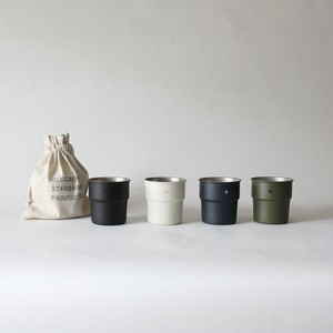 GLOCAL STANDARD PRODUCTS / TSUBAME Stacking cup colors