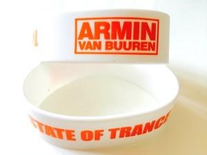 ARMIN VAN BUUREN / ASOT シリコンリストバンド(ホワイト)